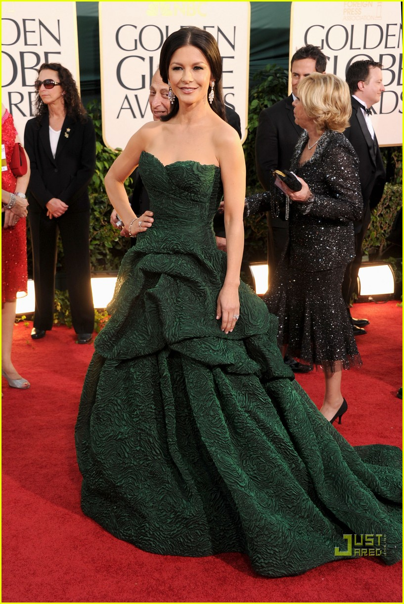 michael douglas catherine zeta jones golden globes 2011 07