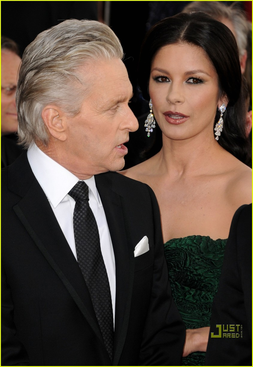 michael douglas catherine zeta jones golden globes 2011 112512267