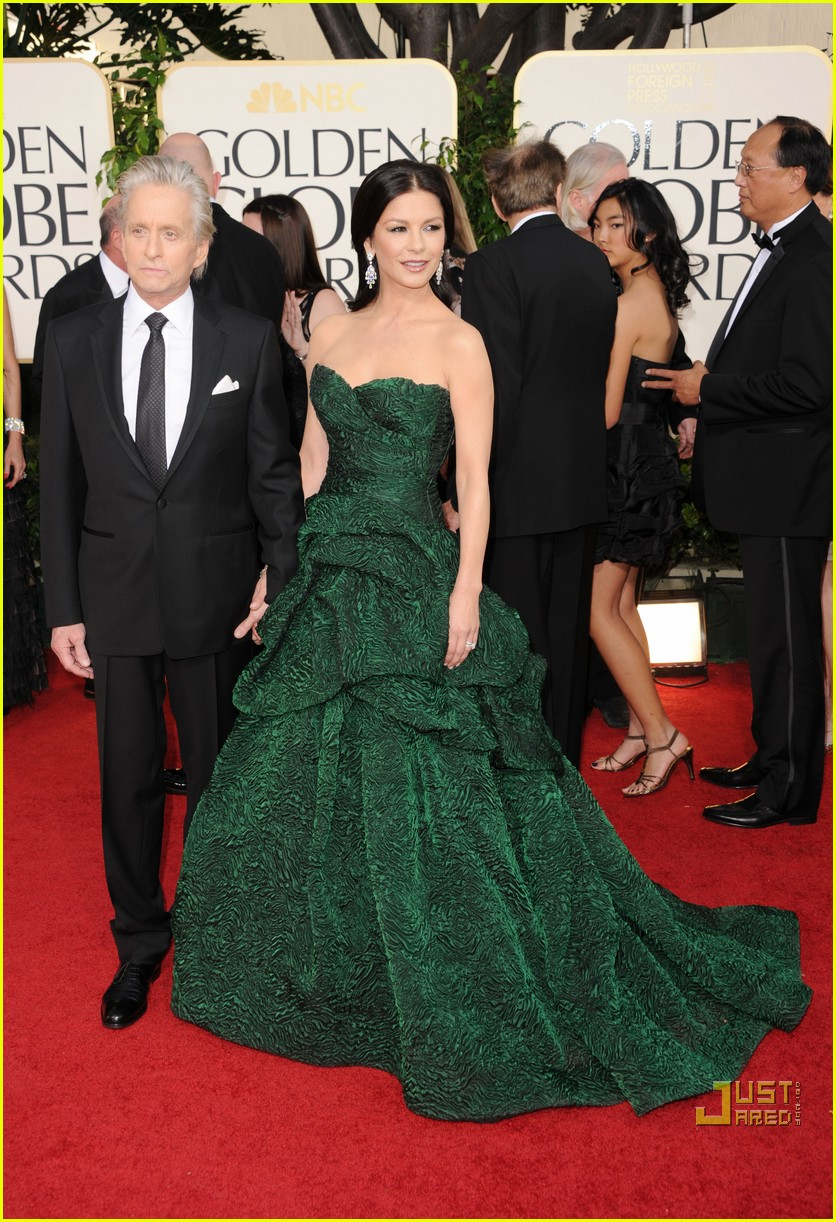 michael douglas catherine zeta jones golden globes 2011 122512268