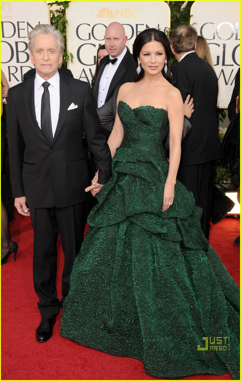 michael douglas catherine zeta jones golden globes 2011 172512273