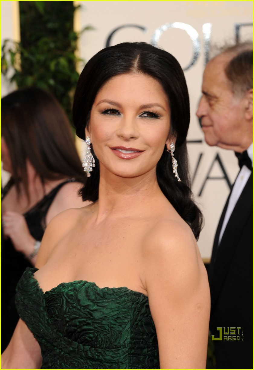 michael douglas catherine zeta jones golden globes 2011 242512280
