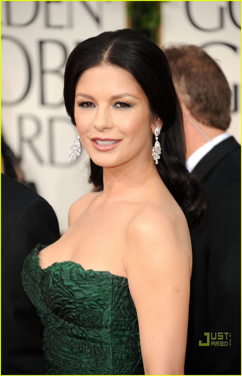 michael douglas catherine zeta jones golden globes 2011 25