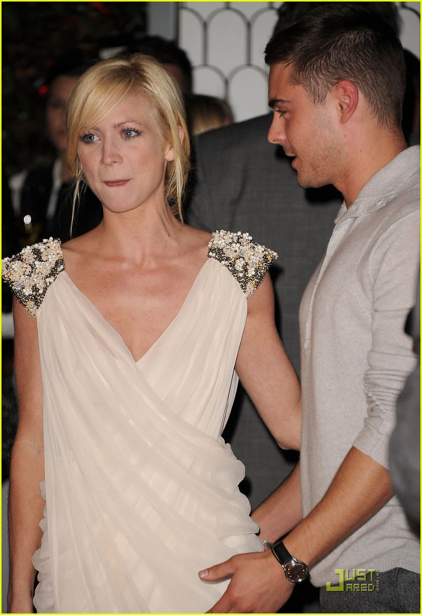 zac efron brittany snow audi golden globe party 102509663