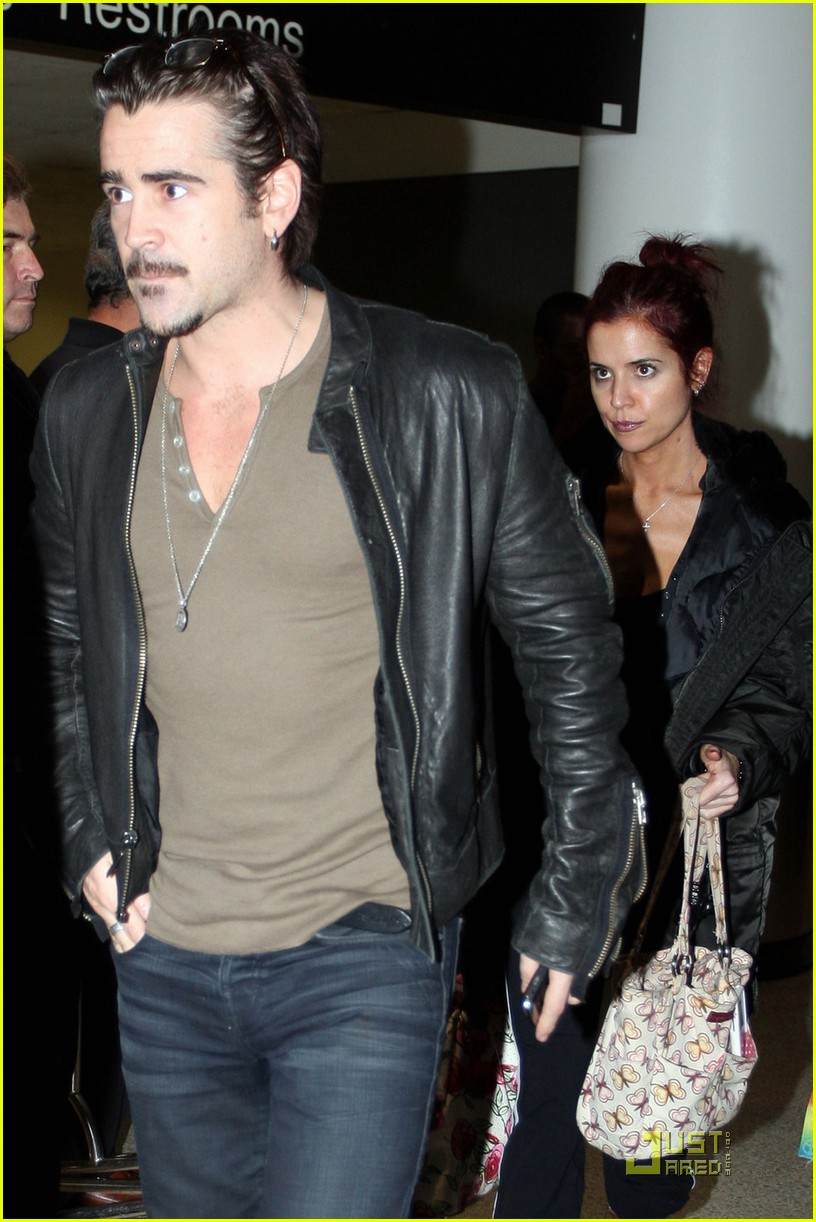 colin farrell arriving in los angeles 08