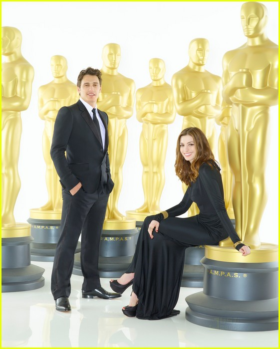Anne Hathaway James Franco: James Franco & Anne Hathaway: Oscar Promo Pics!: Photo