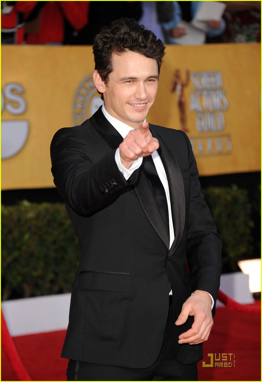 james franco 2011 sag awards 01