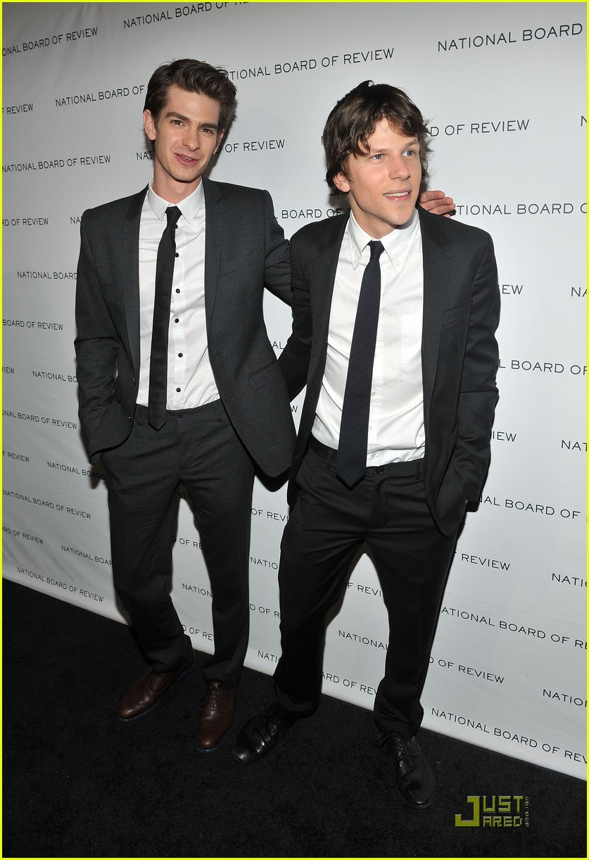 Is andrew garfield dating jesse eisenberg