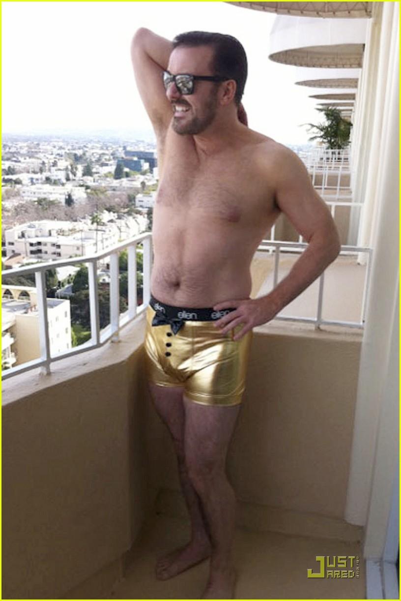 ricky gervais gold underwear 022512660