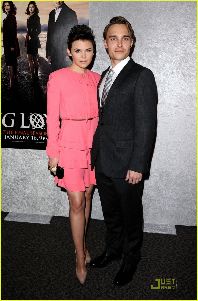 ginnifer goodwin chloe sevigny big love premiere 092510511
