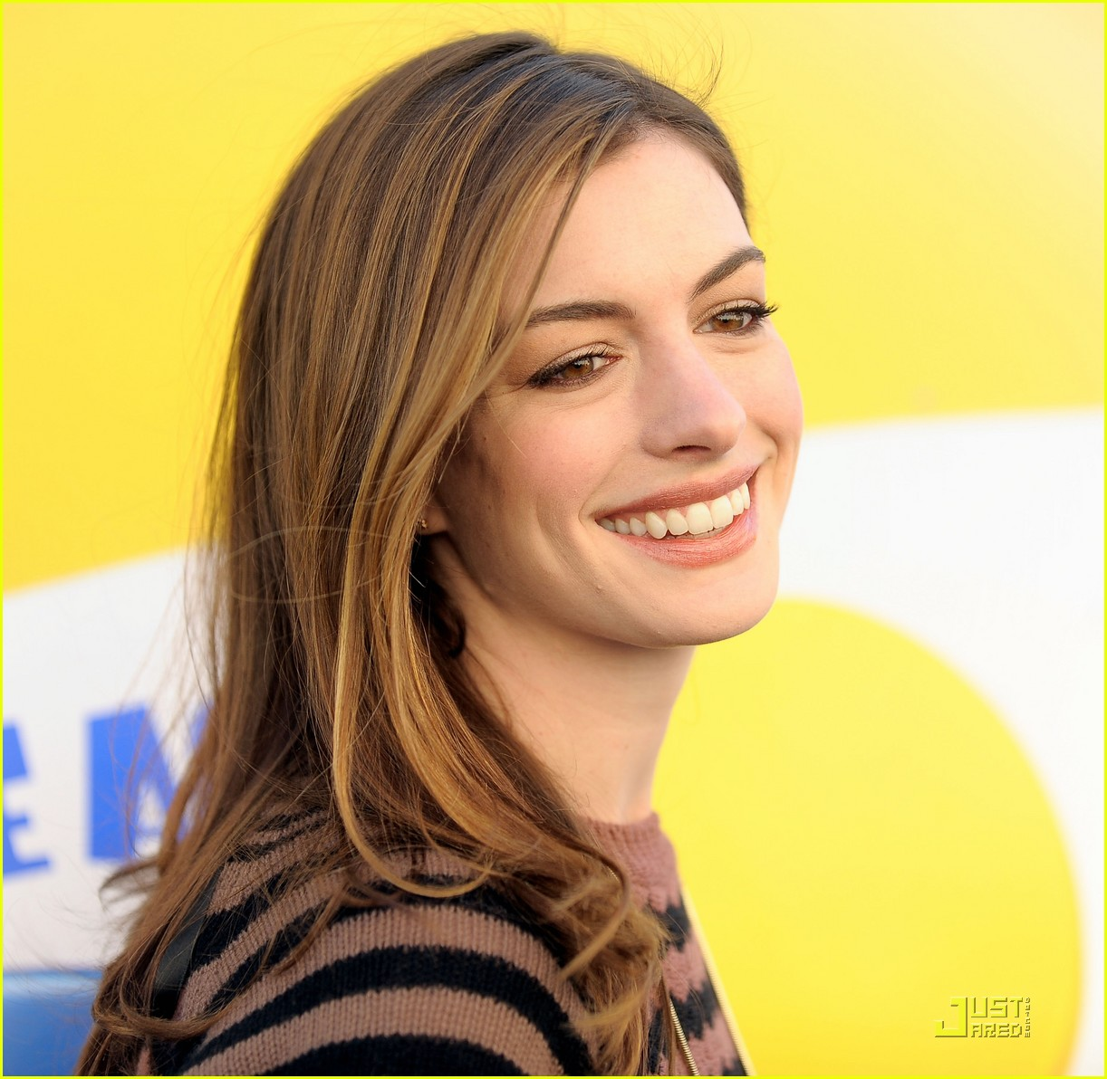 Anne Hathaway Rio Sneak Beak Screening