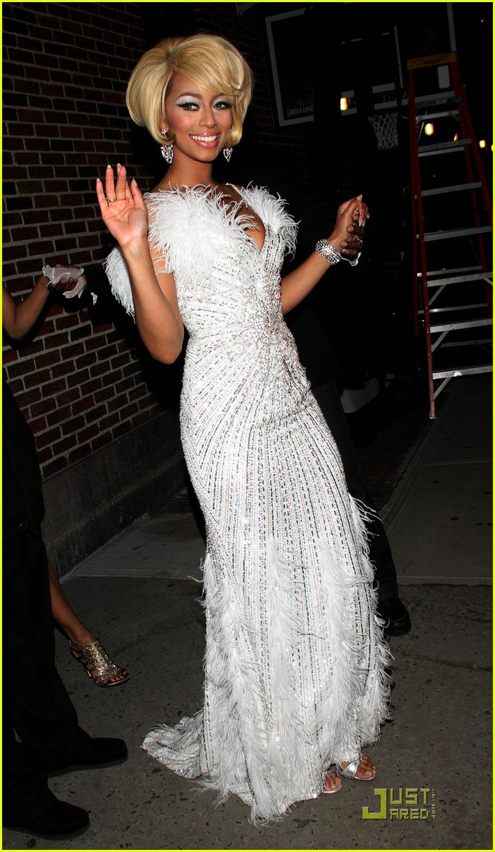 Admirable Keri Hilson 39Pretty Girl Rock39 On Letterman Photo 2508403 Hairstyles For Men Maxibearus