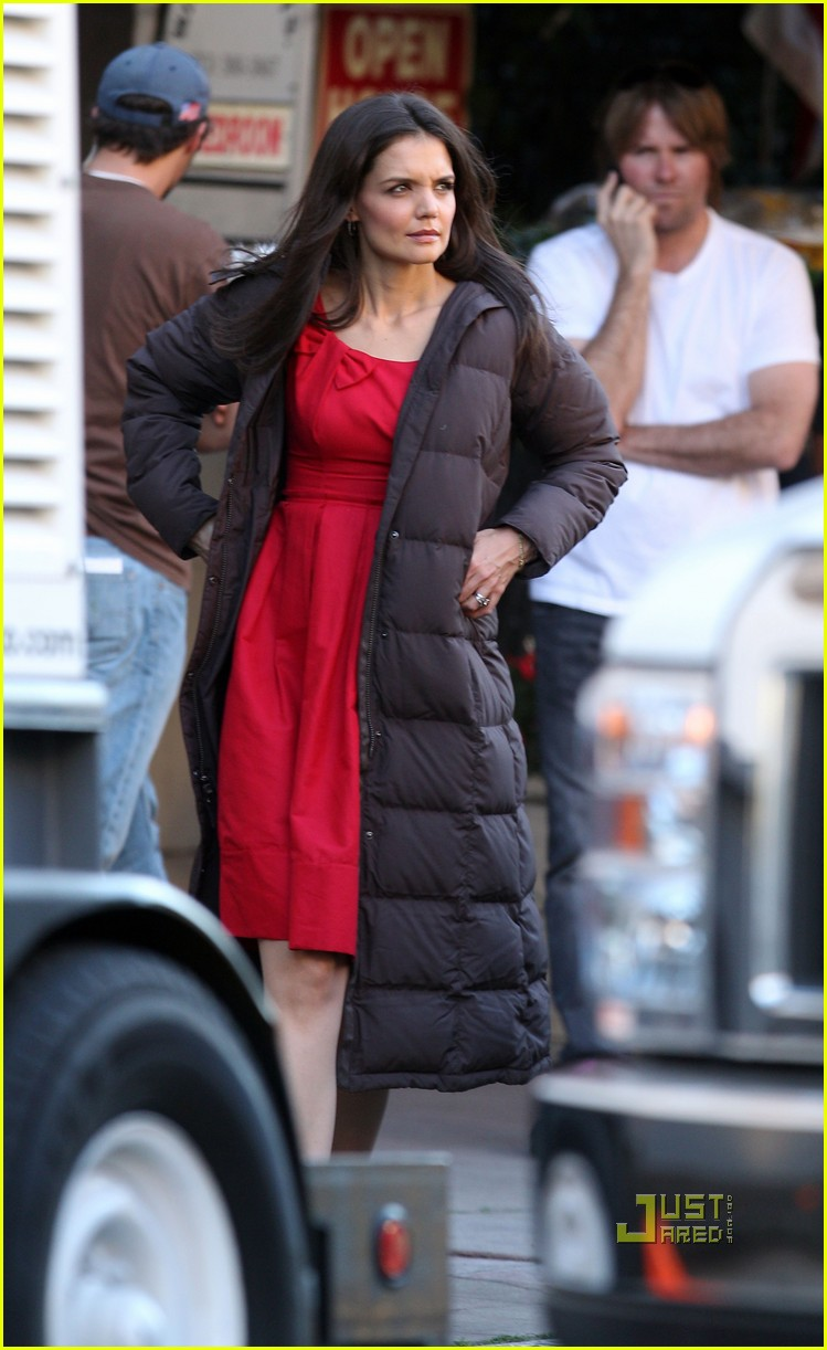 katie holmes red dress jack jill 012513212