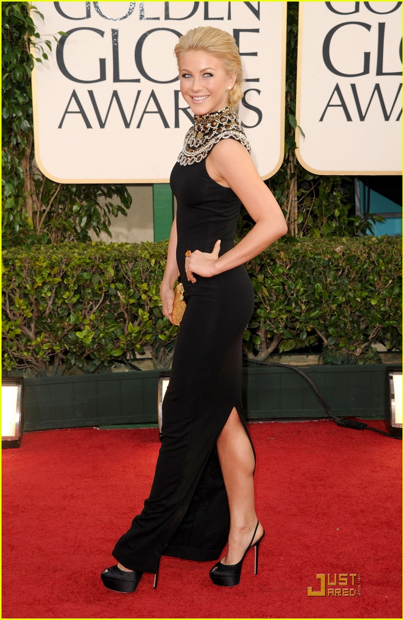 julianne hough golden globes 02