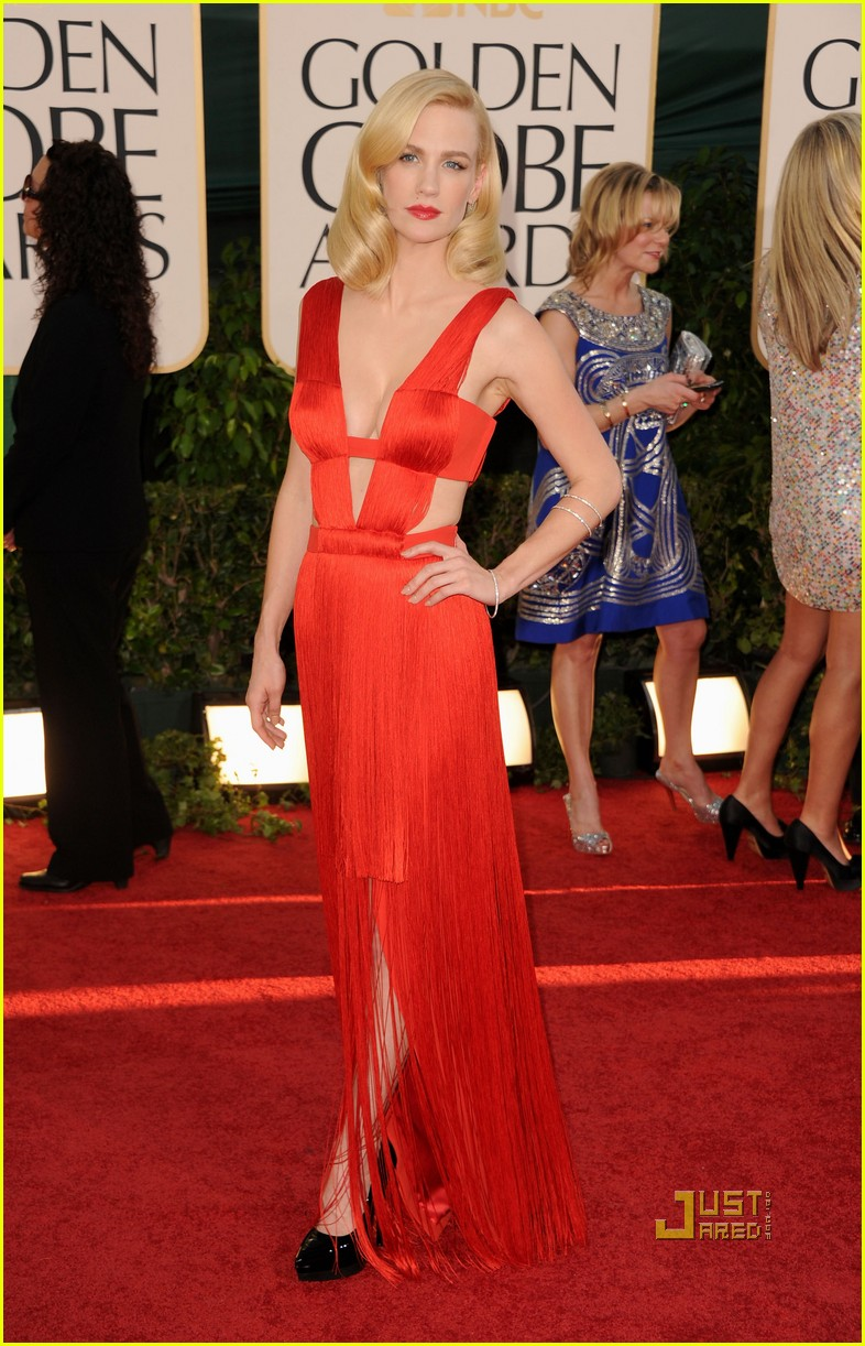 january jones 2011 golden globes 08