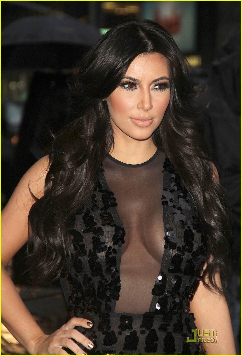 kim kardashian letterman 082512796