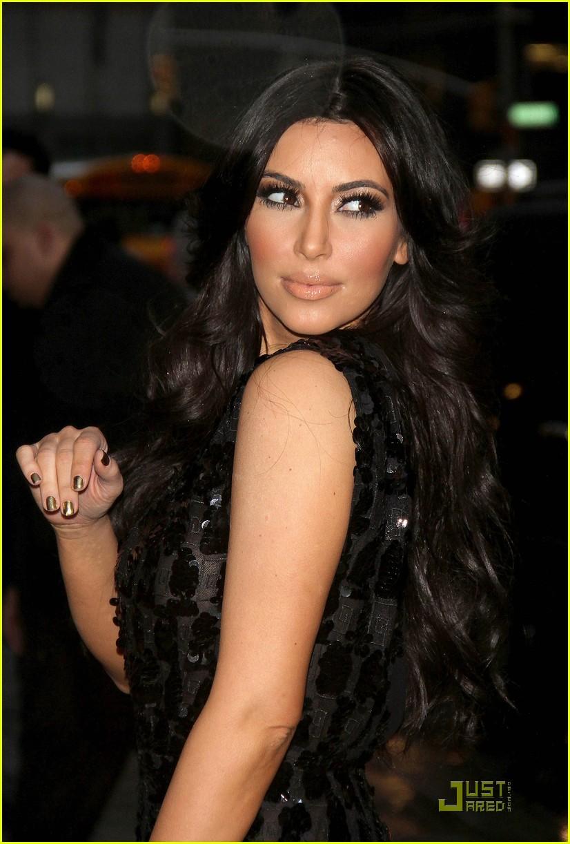 kim kardashian letterman 092512797