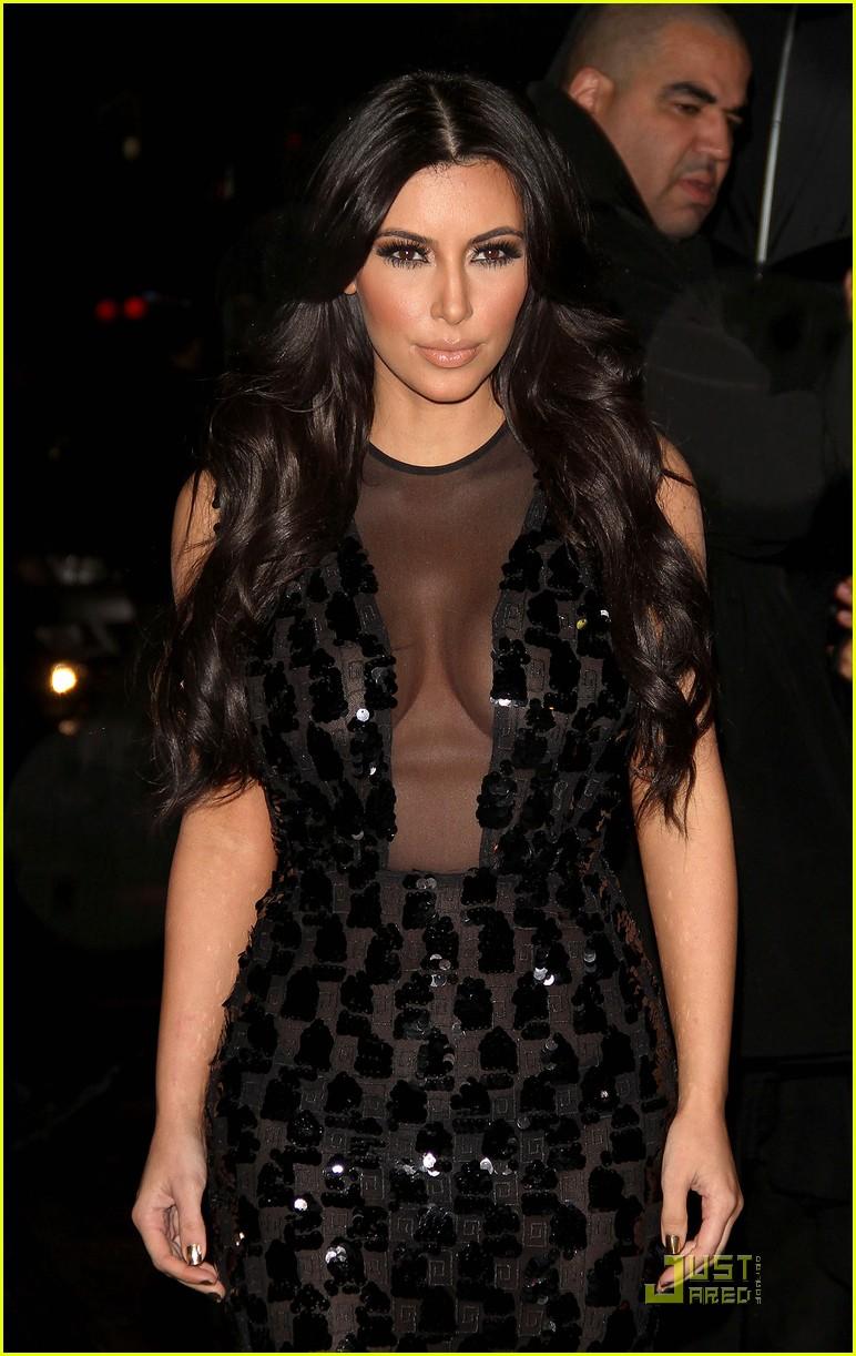 kim kardashian letterman 122512800