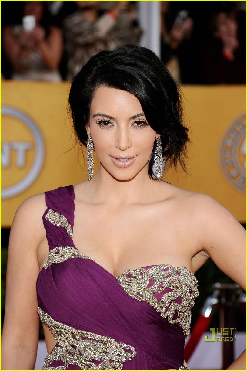 kim kardashian sag awards 2011 042515509