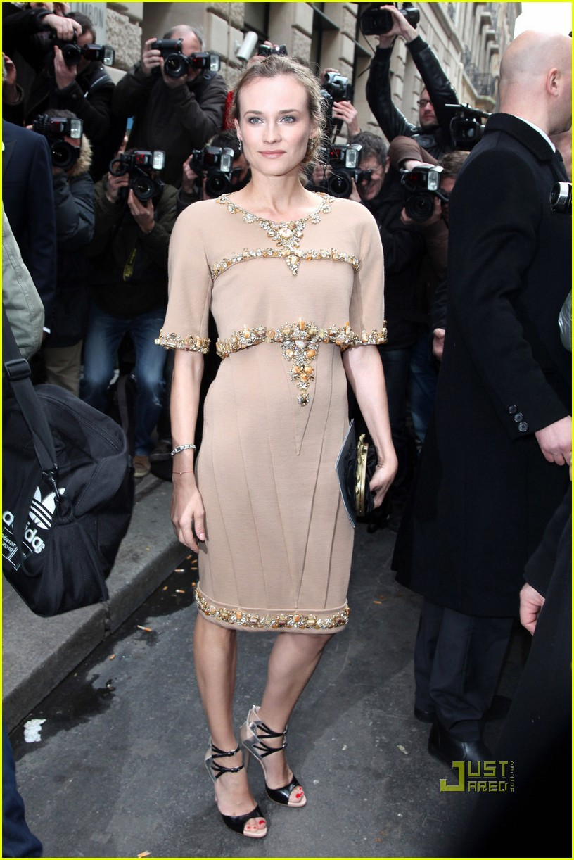 diane kruger kirsten dunst chanel haute couture 092514218