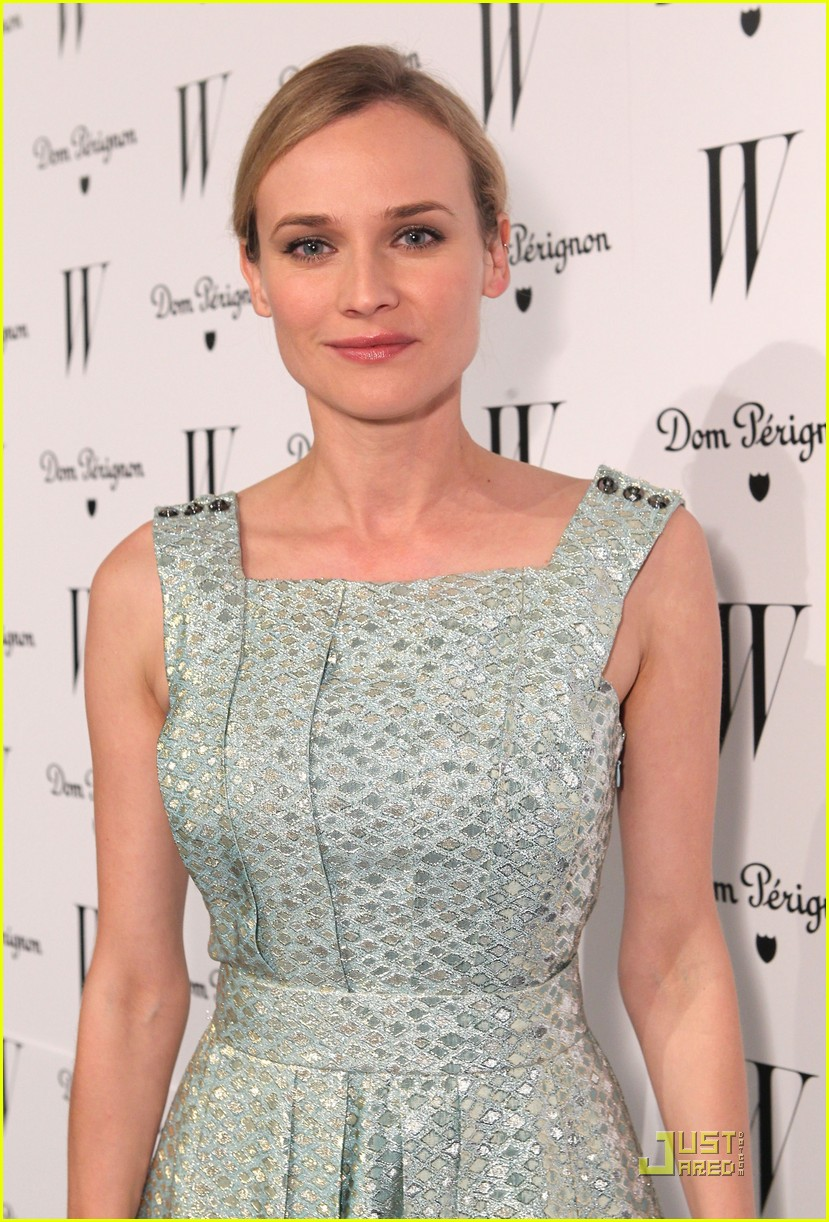 diane kruger w magazine golden globe party 02