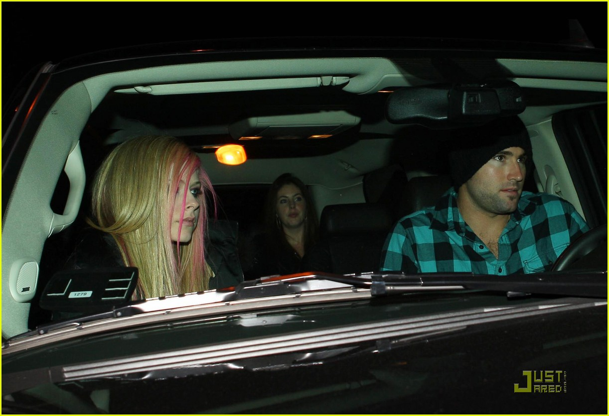 avril lavigne brody jenner date night 032515084