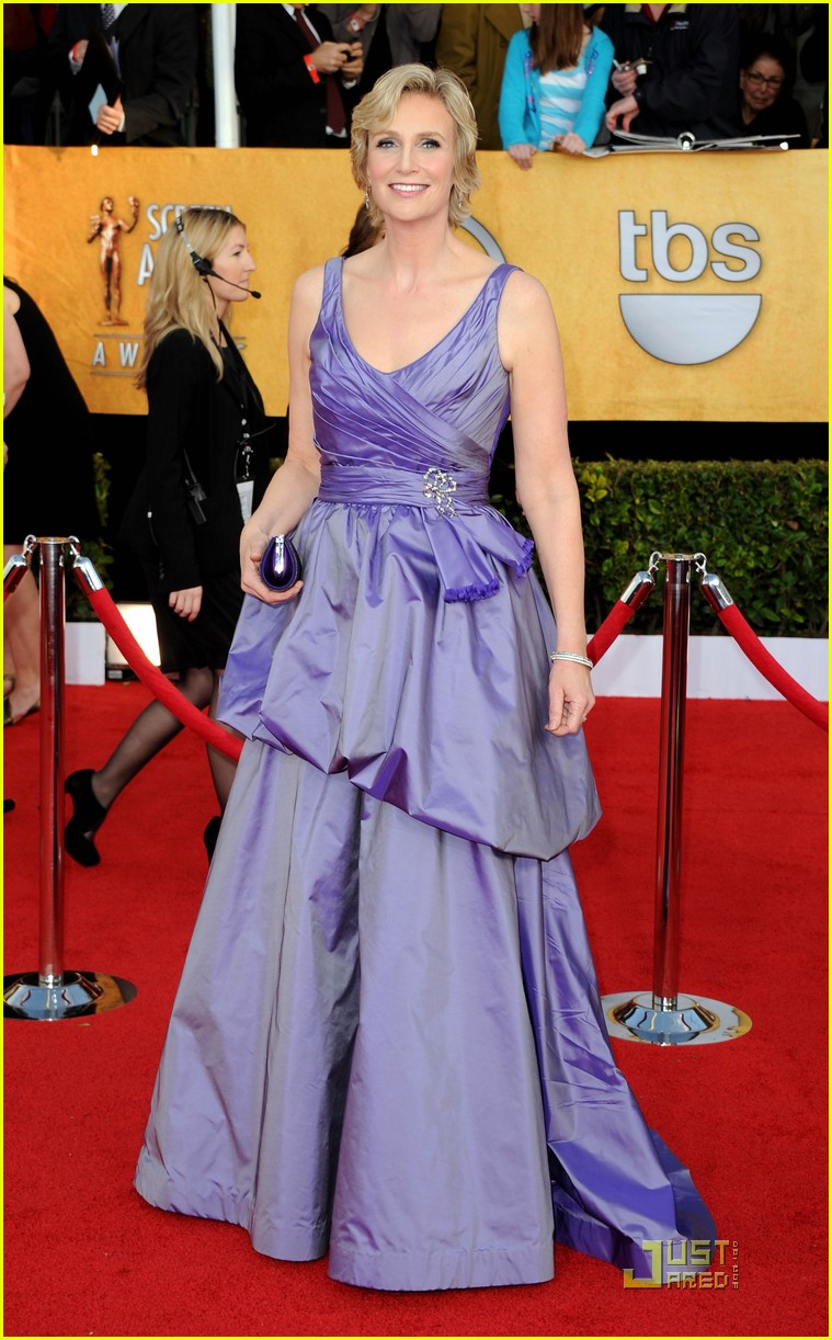 jane lynch heather morris sag awards 012515524
