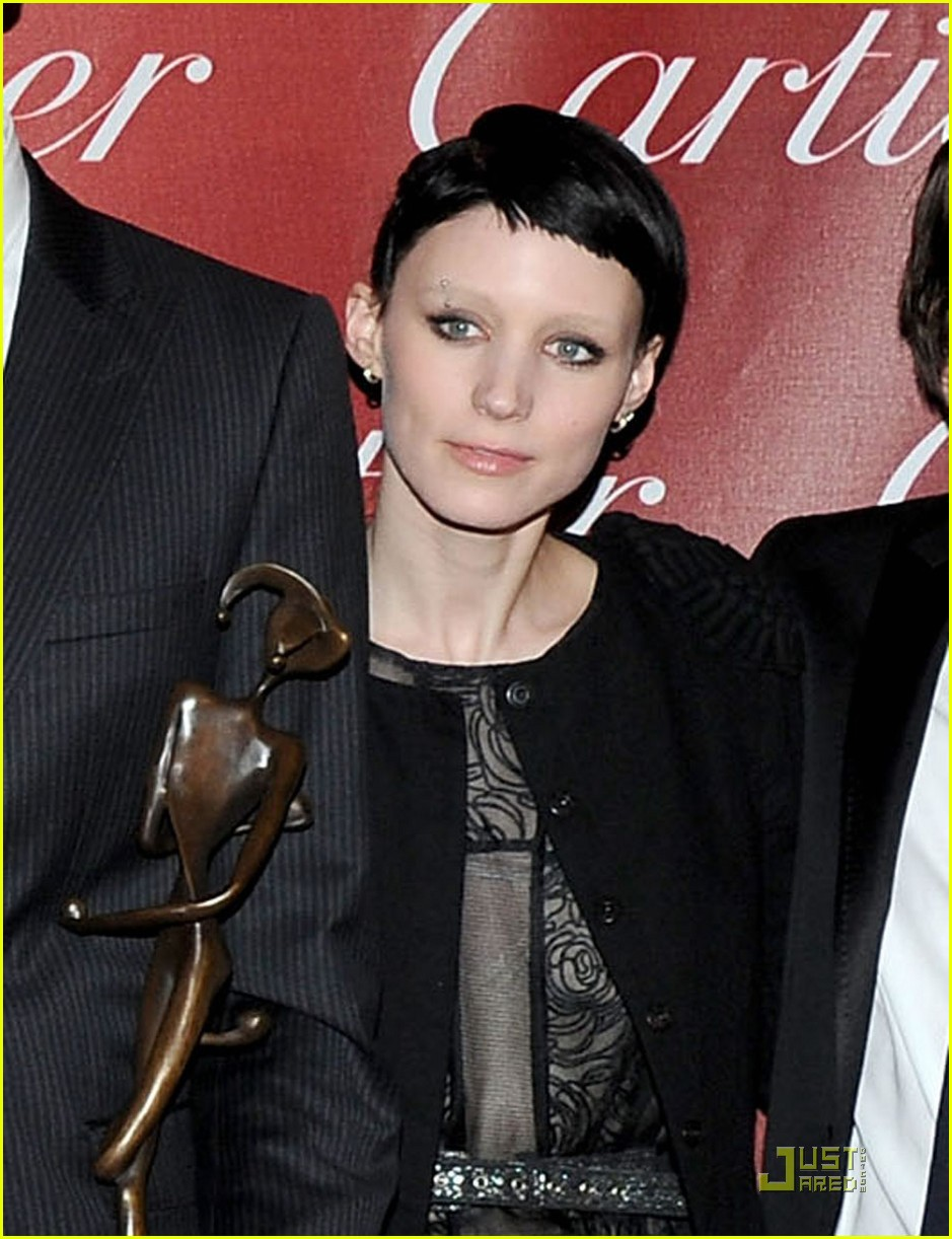 rooney mara lisbeth salander in palm springs 022509881