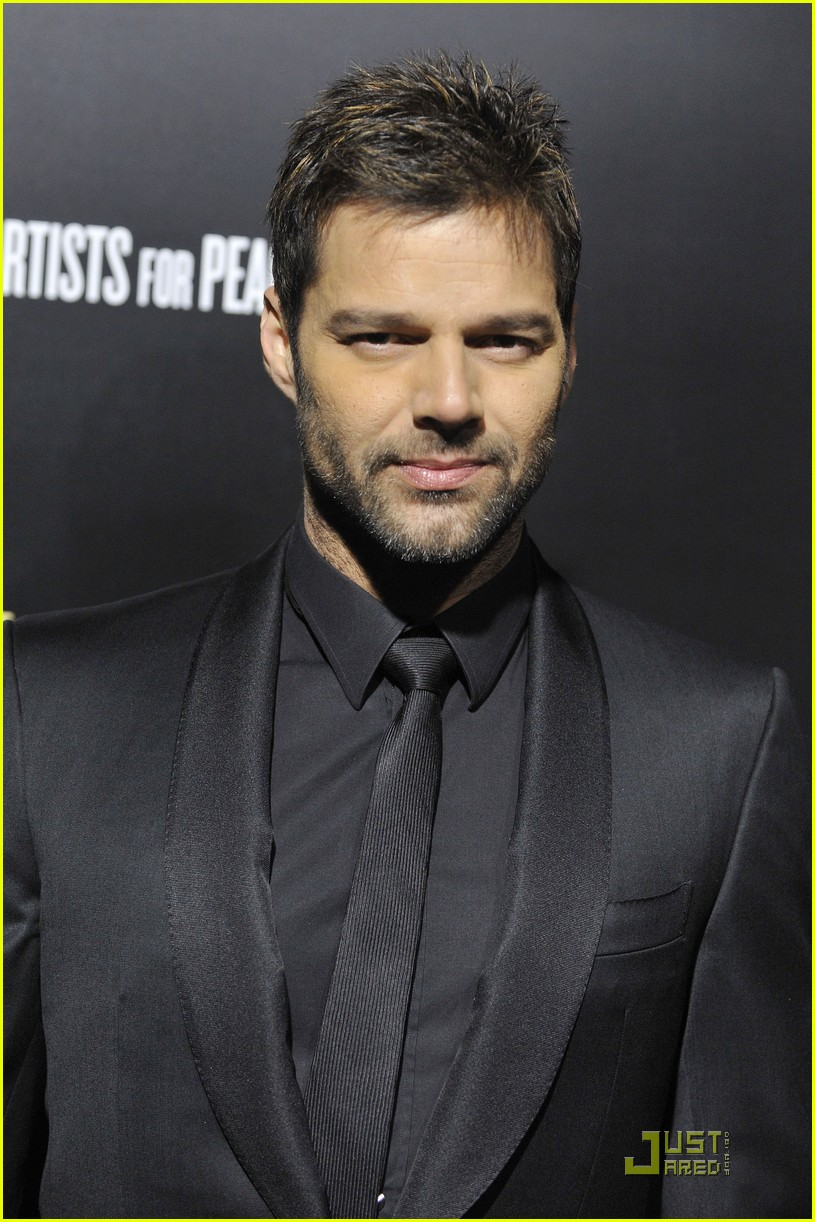 ricky martin chace crawford artists for peace 062510884