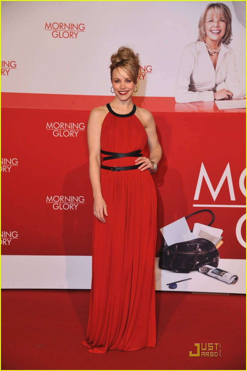 rachel mcadams morning glory premiere 052509528