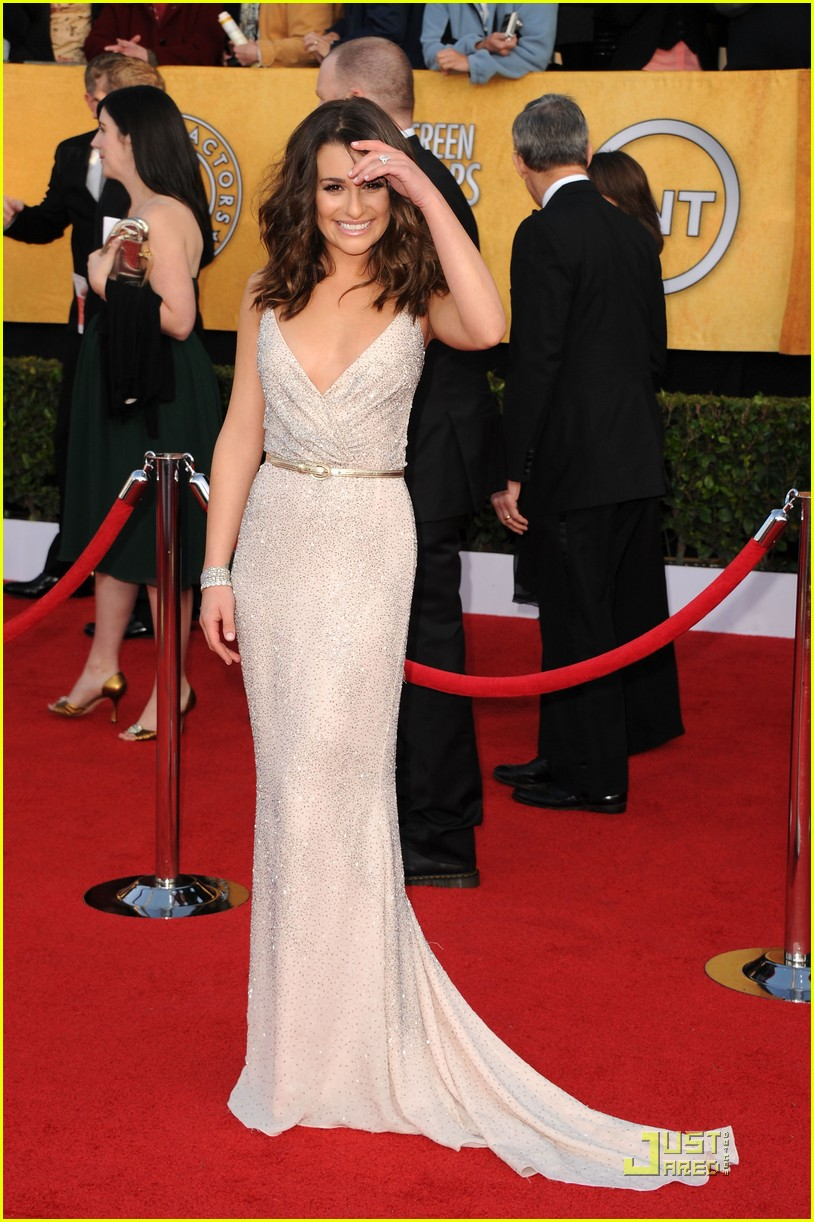 lea michele sag awards 01