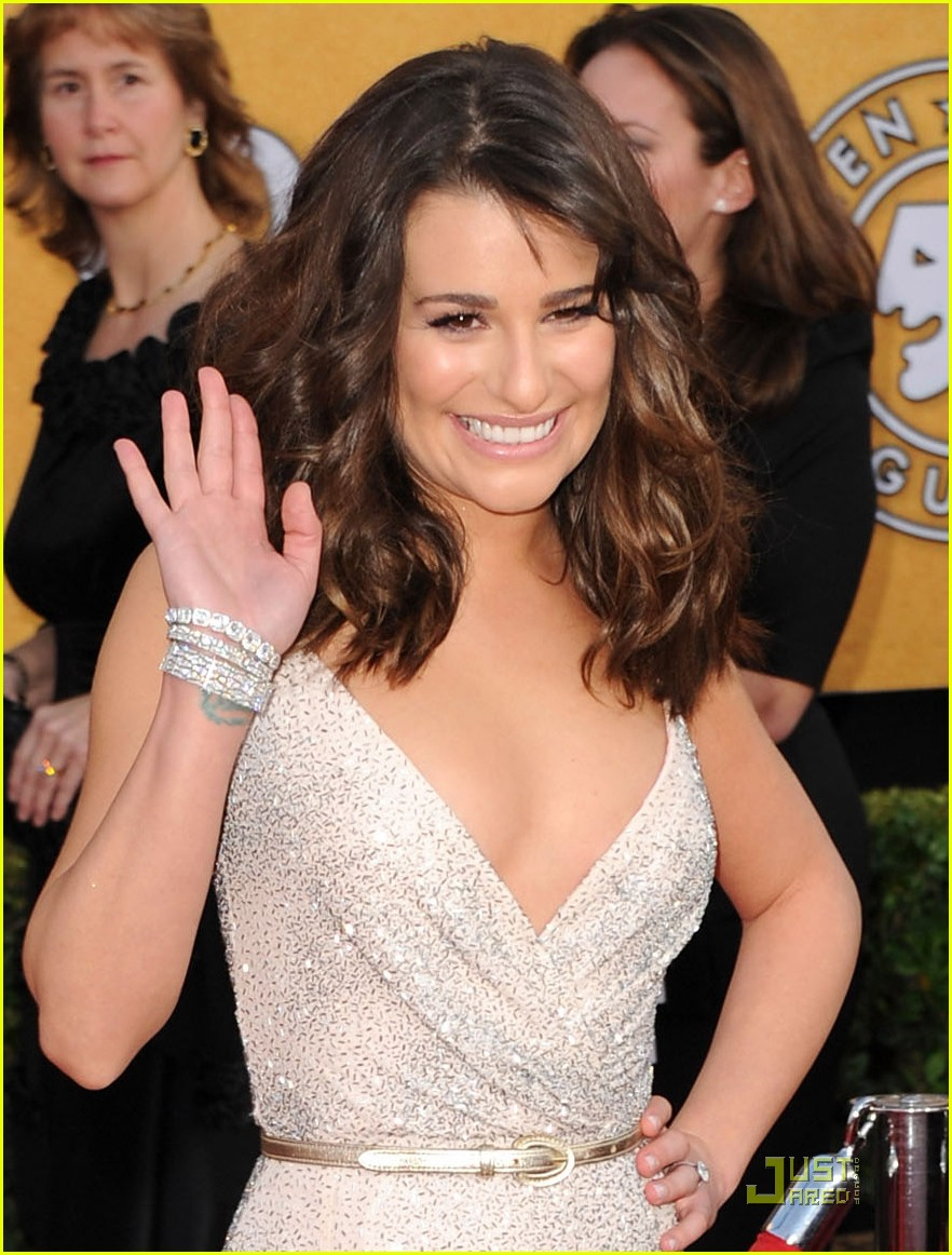 lea michele sag awards 02