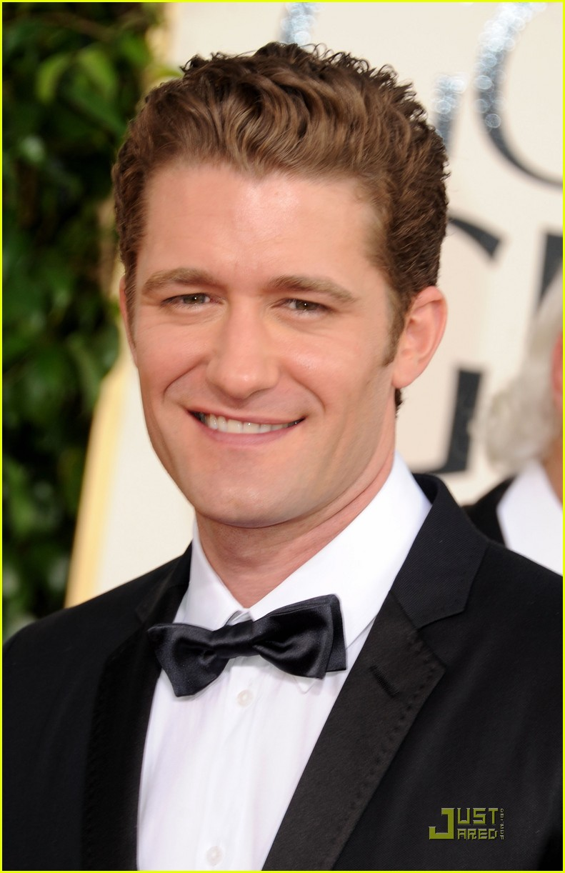 matthew morrison glee boys golden globes 2011 052512480
