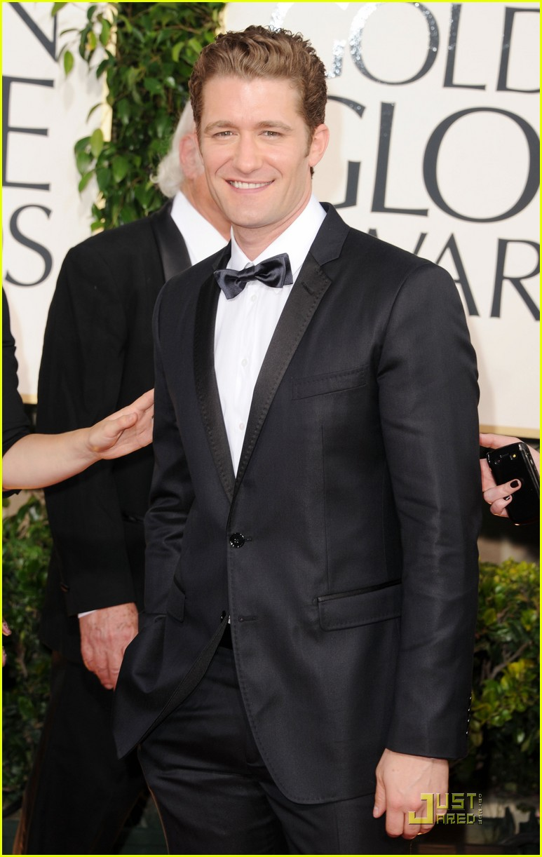 matthew morrison glee boys golden globes 2011 152512490