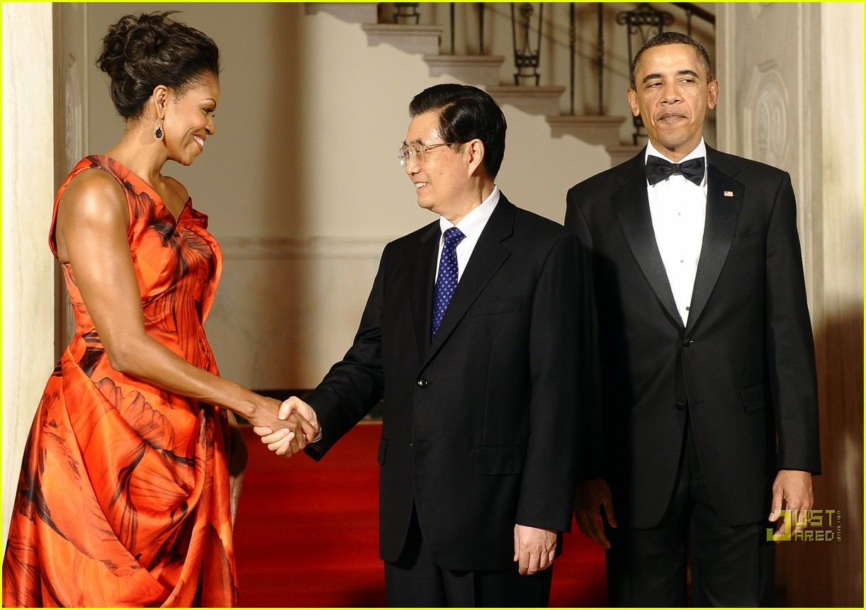 michelle obama china red 012513178