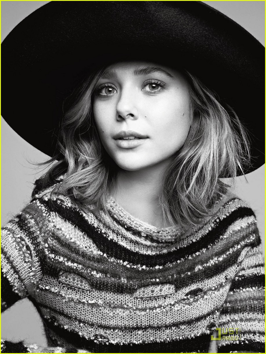 elizabeth olsen v magazine