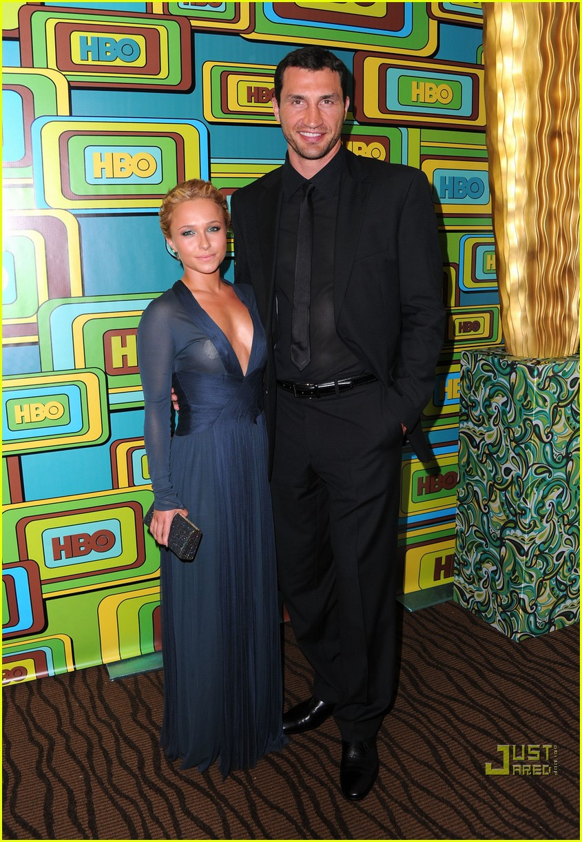 hayden panettiere wladimir klitschko hbo golden globes party 01