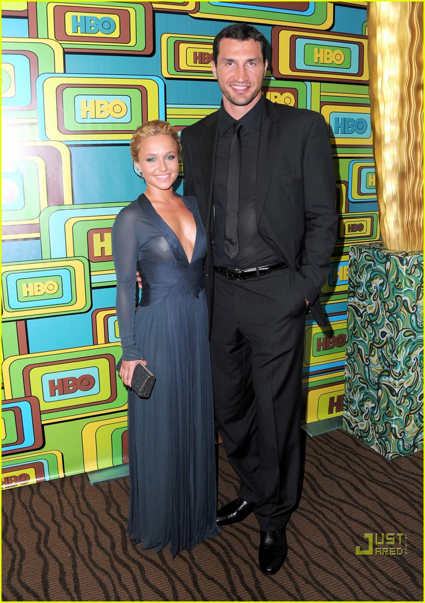 hayden panettiere wladimir klitschko hbo golden globes party 09