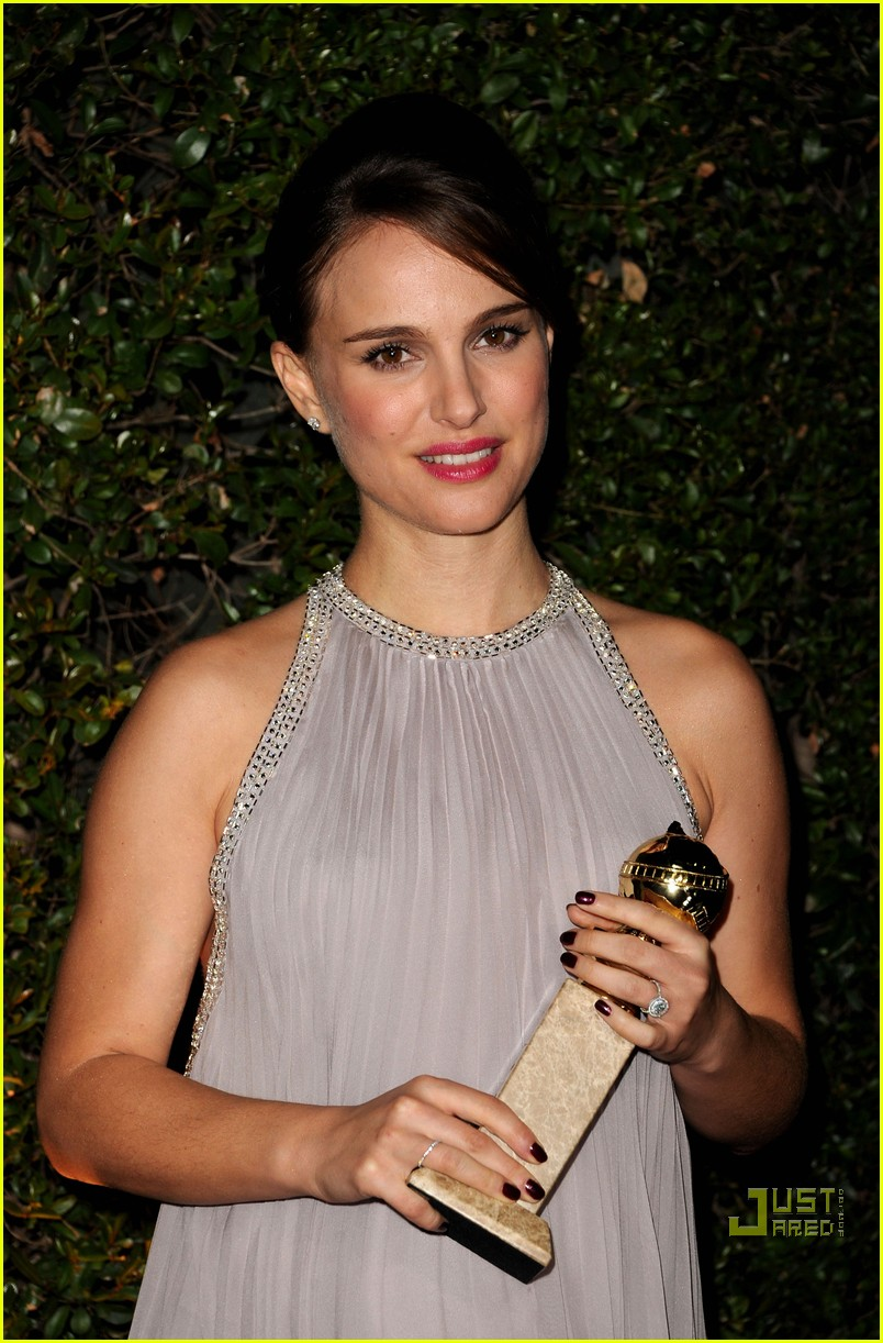 natalie portman fox searchlight golden globes party 032512382