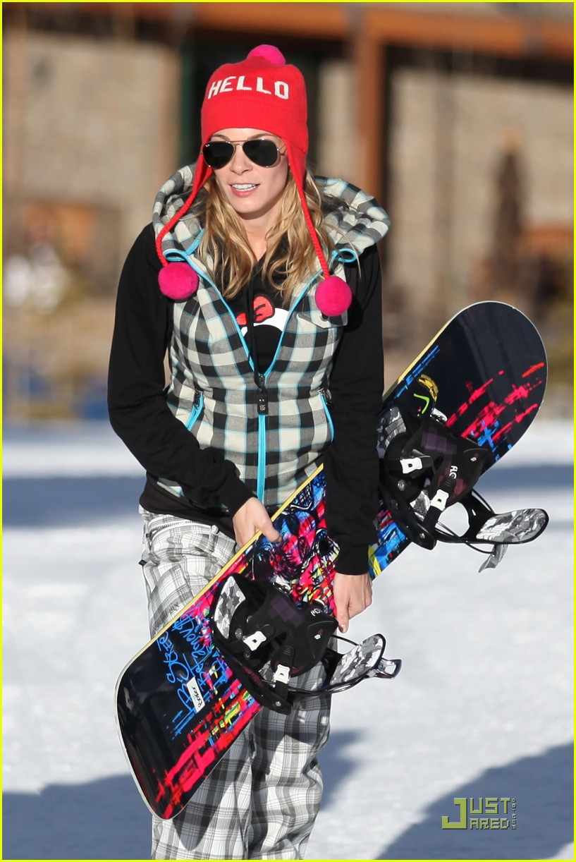 leann rimes eddie cibrian snowboarding 032515995