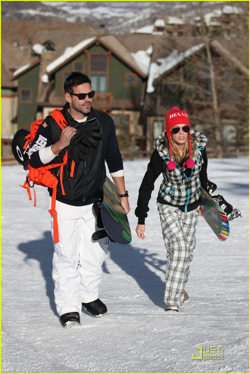 leann rimes eddie cibrian snowboarding 06