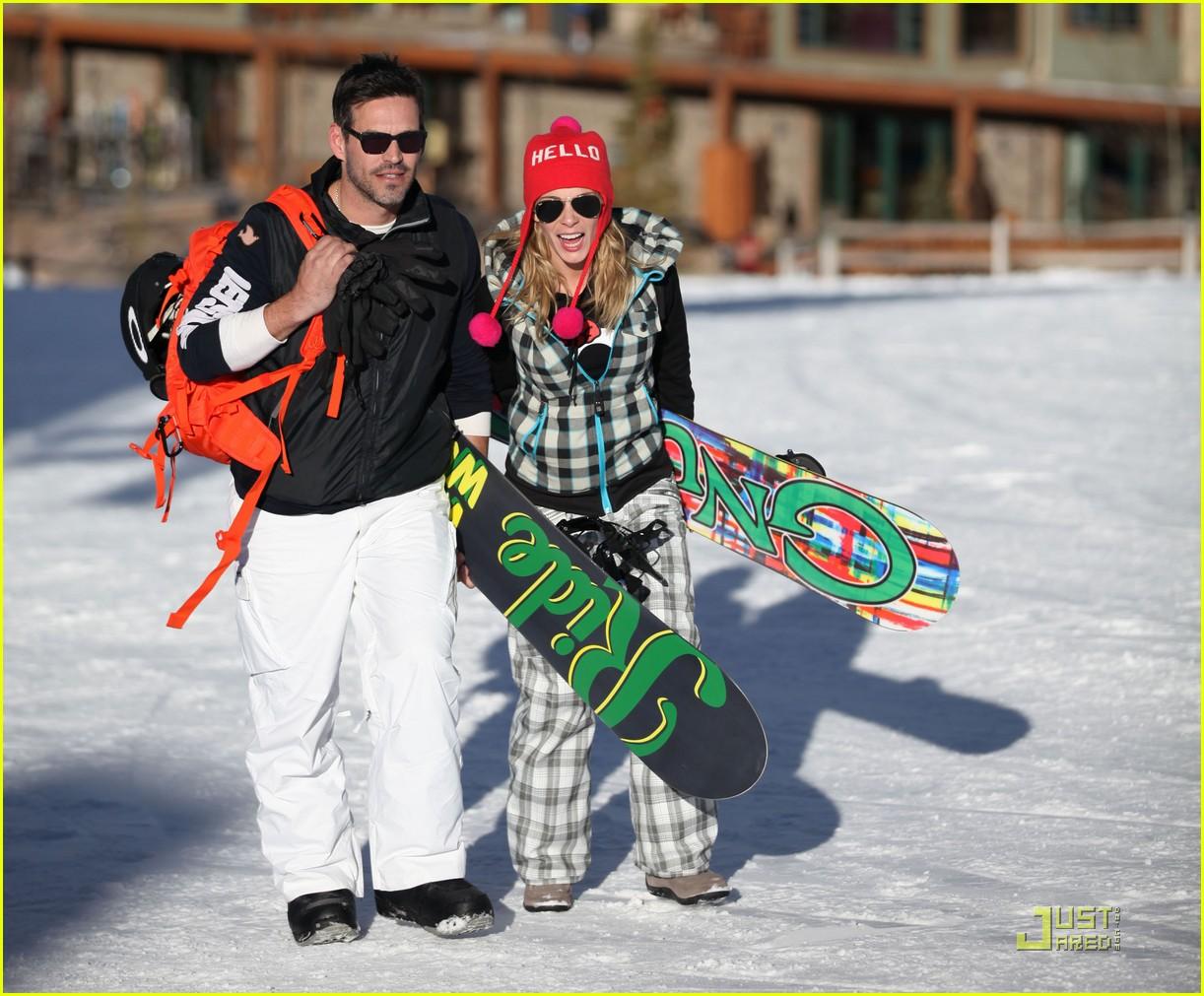 leann rimes eddie cibrian snowboarding 072515999