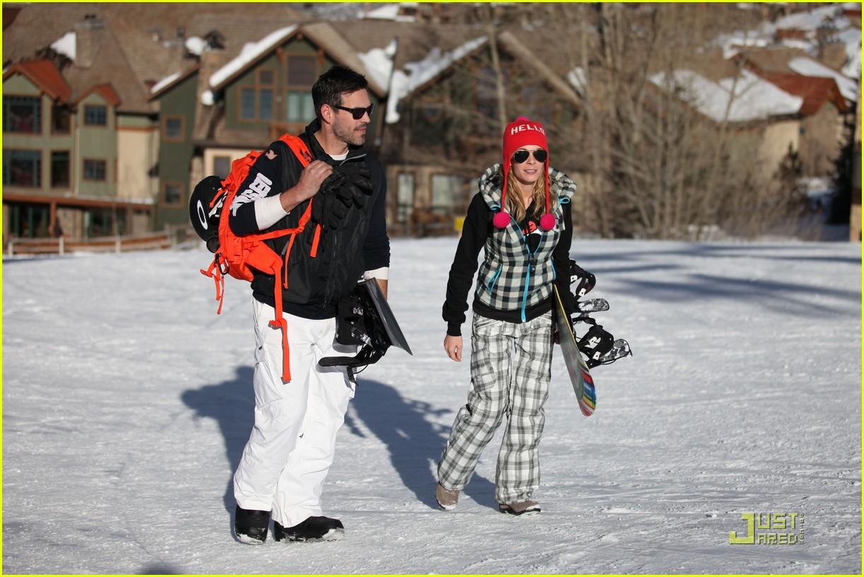 leann rimes eddie cibrian snowboarding 092516001