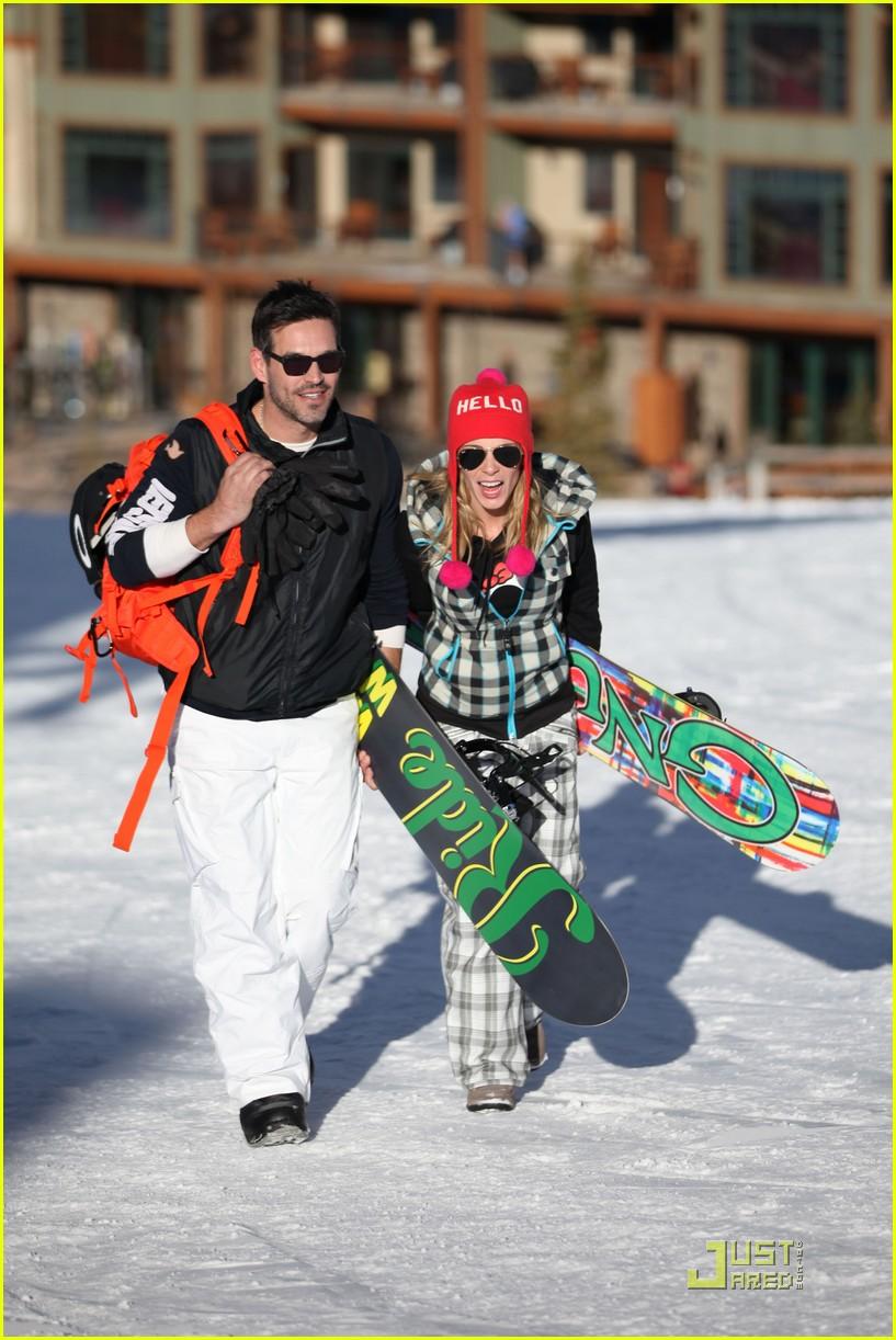 leann rimes eddie cibrian snowboarding 142516006