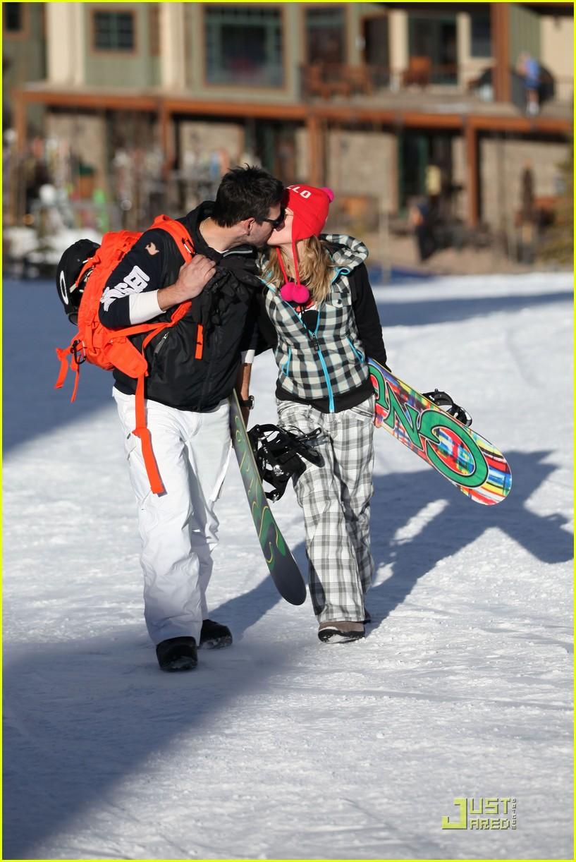 leann rimes eddie cibrian snowboarding 162516008