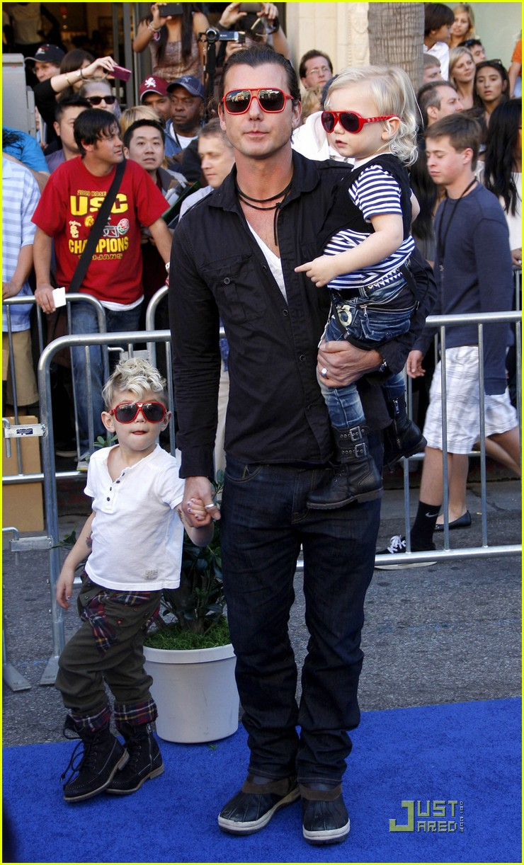 gavin rossdale kingston zuma gnomeo juliet premiere 032514183