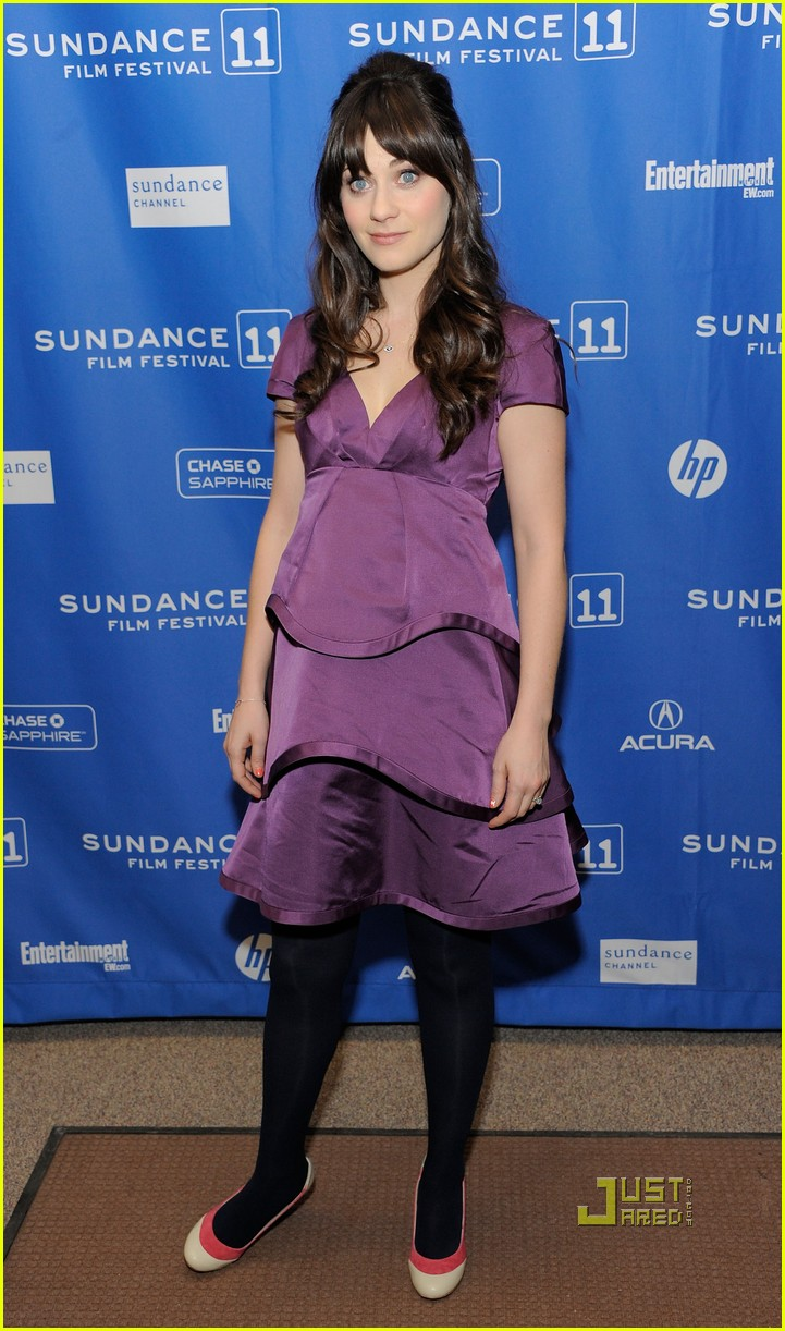 zooey deschanel paul rudd rashida jones idiot brother sundance 04
