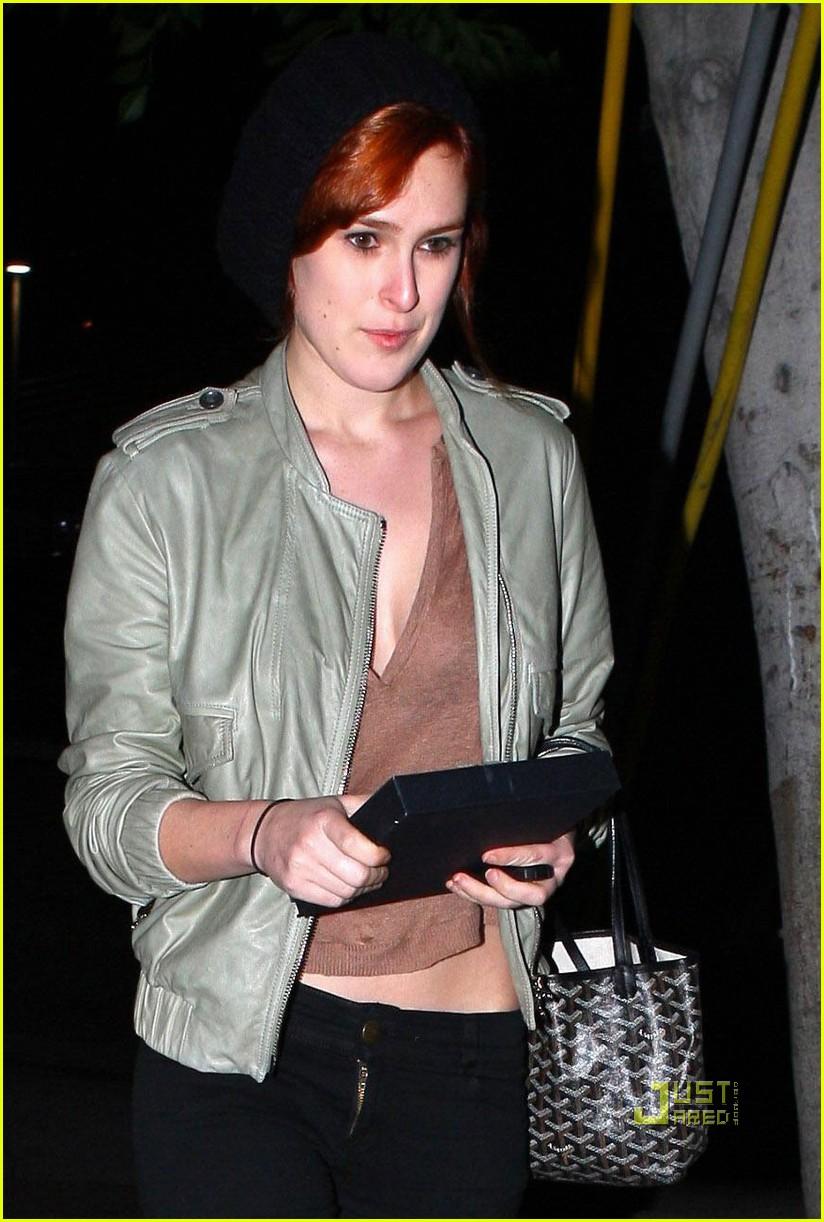 rumer willis red hair 022511620