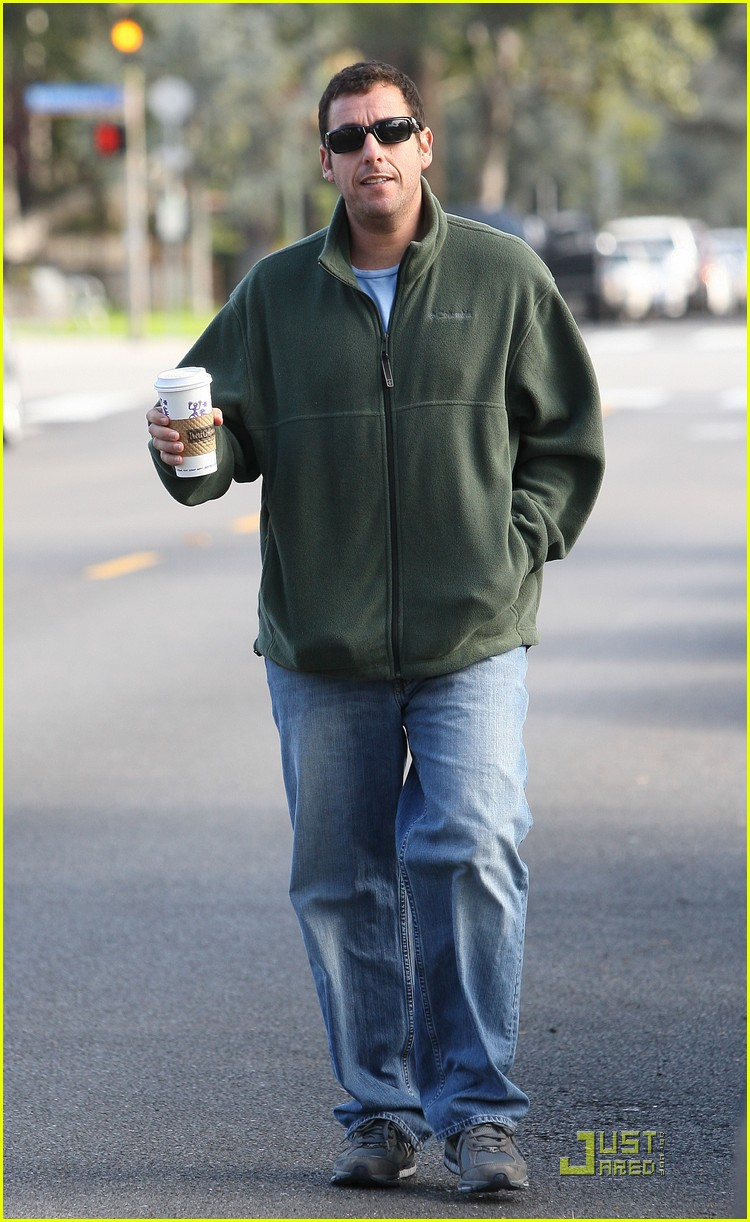 adam sandler strolling with sadie sunny 032509640