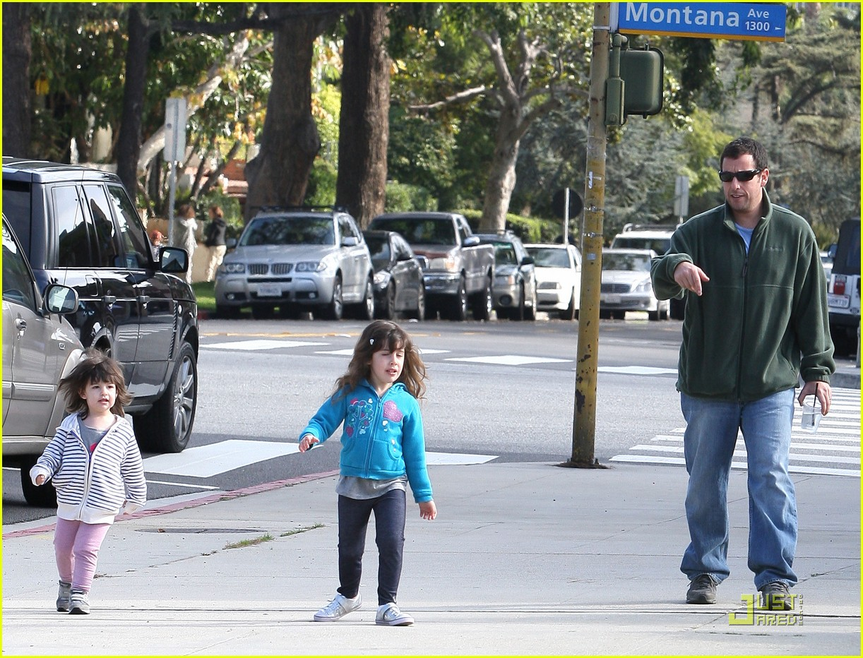 adam sandler strolling with sadie sunny 062509643