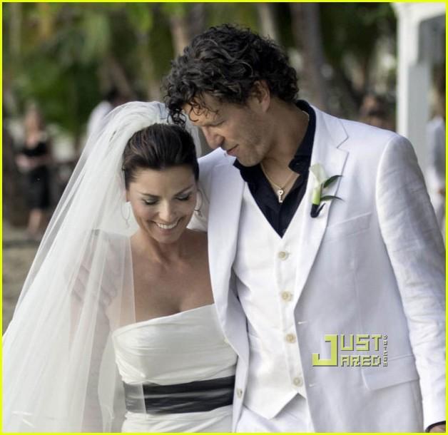Shania Twain's Wedding Pics Revealed!: Photo 2508106